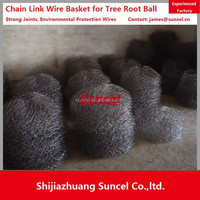 Suncel Chain Link fence Mesh for Plant / tree Root Ball Mesh Basket