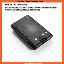 FNB-V57 Ni-cd 1100MAH battery pack for Vertex/yaesu VX110 Walkie talkie