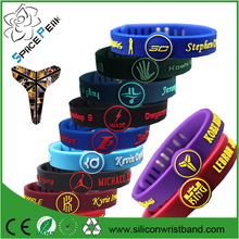Basketball Star Bracelet adjustable Ion balance energy Sports Silicone Rubber Wristband