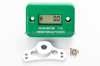 LCD Vibrative Hour Meter Digital Timer for Diesel Generator Pit Bike Motocross