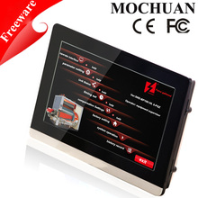 Modbus rs485 programmable hmi touch screen monitor