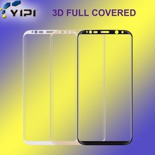 2017 Hot New Premium! 3D Full Cover Arc Edge Design For Galaxy S8/S8 Plus, Mobile Phone Screen Protector//