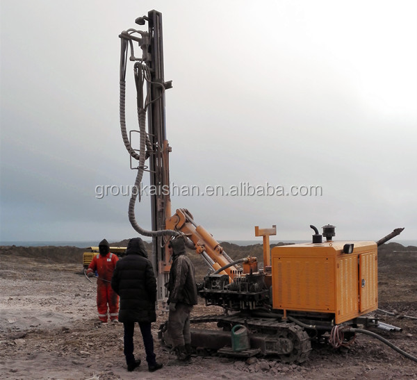 KY140A multi-purpose portable blast hole drill rig/crawler rock drill/Crawler Mounted Core Drilling Rig
