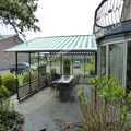 Outdoor conservatory awning