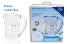 factory offer OEM ODM ok SGS certificate alkaline water pitcher / portable ionizer