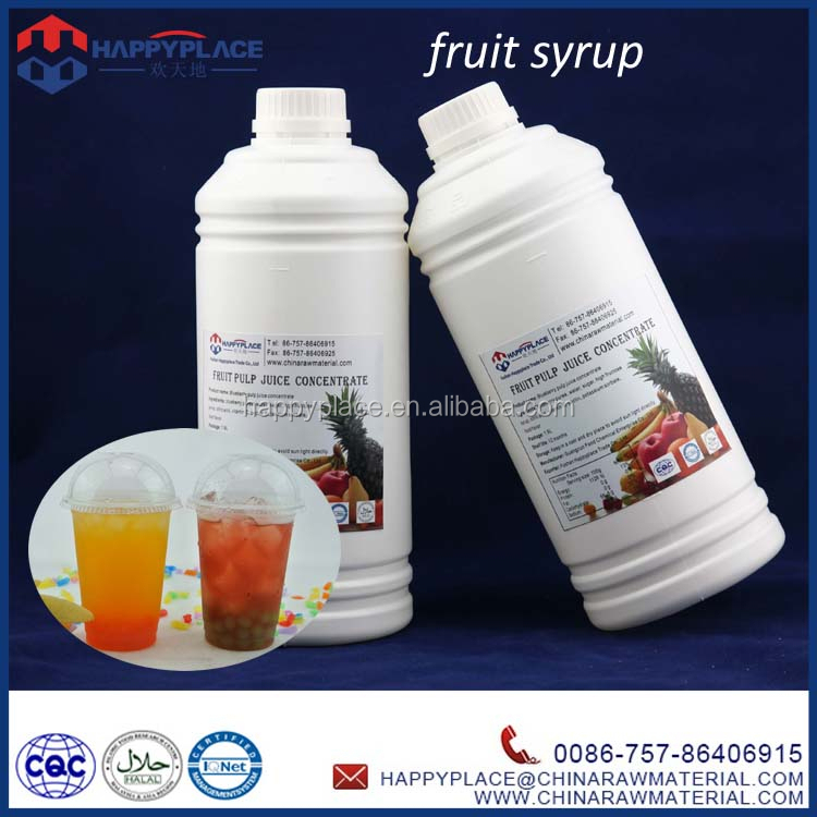low price bubble tea syrup, halal bubble tea juice, high quaity fruit syrup for bubble tea