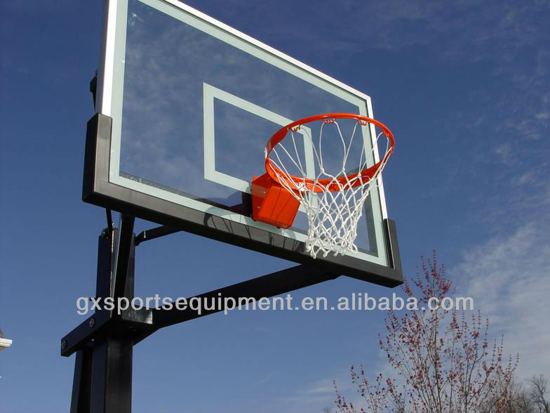 Inground adjustable basketball hoops/stand/goal for home