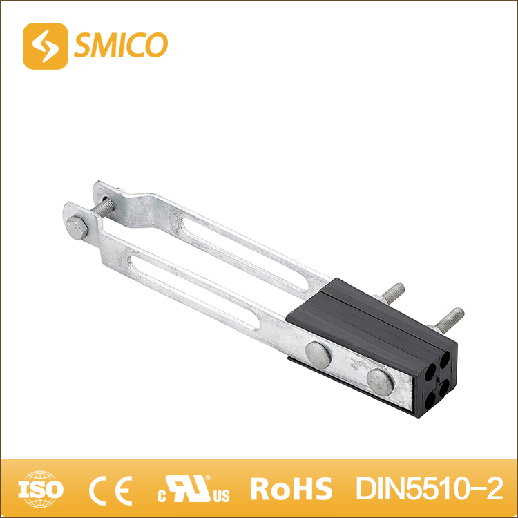 SMICO Sale Mild Steel Strain Anchor Clamp For Terminating 4-Core Of Aerial Bundle Conductor
