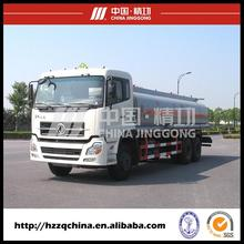 JINGGONG fuel oil delivery tanker truck with factory prices sale