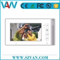 Alibaba Top Manufacturer 2013 new design handfree color video door manufactured in China
