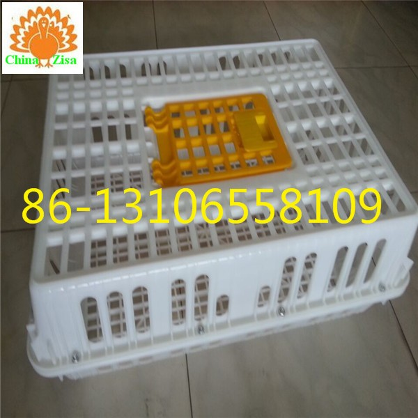 large door plastic transport cage for live chicken