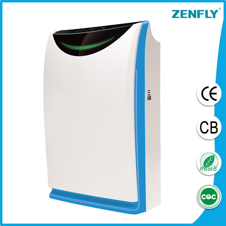 canton fair hot sell new brand home air purifier ionizer ZENFLY K02