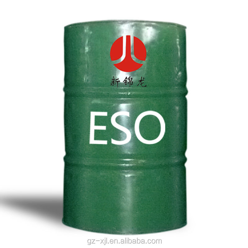 High Quality Epoxidized Soybean Oil ESBO ESO Chemical Auxiliary Agent Plasticizer and Stabilizer Guangdong Manufacturer