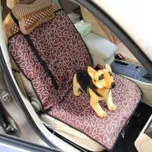 Nonslip Folding Car Front Seat Pattern Cover Pet Cat Dog Cushion Mat