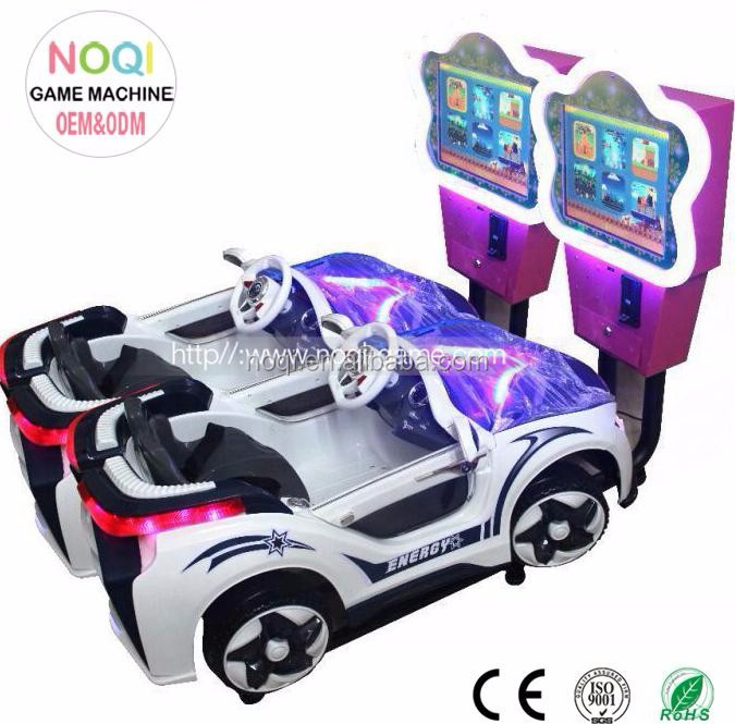 NQK-V01 coin operated 3d car racing games free download amusement park equipment rides for kids