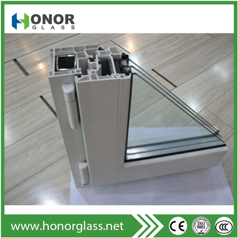 china latest glass window home window design upvc windows with grill