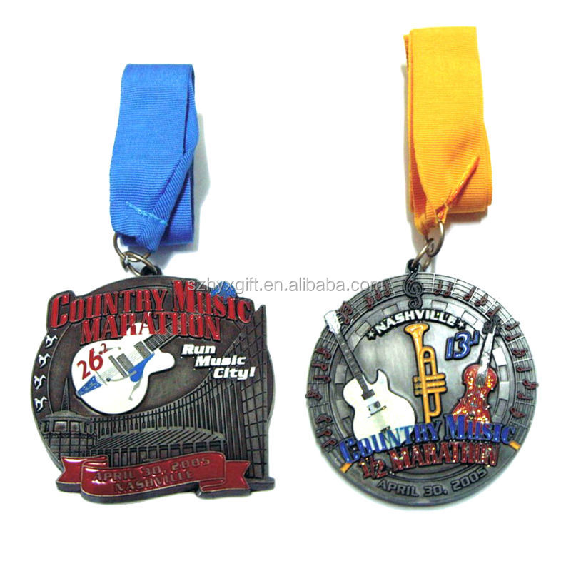Cheap Wholesale Zinc Alloy Custom Award Medal With Ribbon Factory Direct Made Quality Bronze Profession Medal Award Supplier