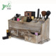 3 Drawers Vantiy Drawer Beauty Organizer, Wooden Cosmetic Storage Box