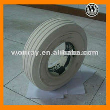big industrial wheels, Hot Sale Solid Rubber Tires with Rims for Steel Plant