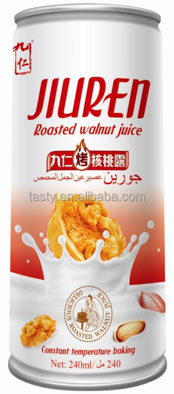 China factory wholesale roasted walnut juice beverages drink mix