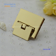 zinc alloy lock for bags high quanlity metel accessories for pursse wholesale bu manufacturer in China