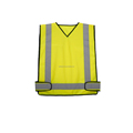 Cheap kids safety reflective vest with 3m reflective tape EN20471