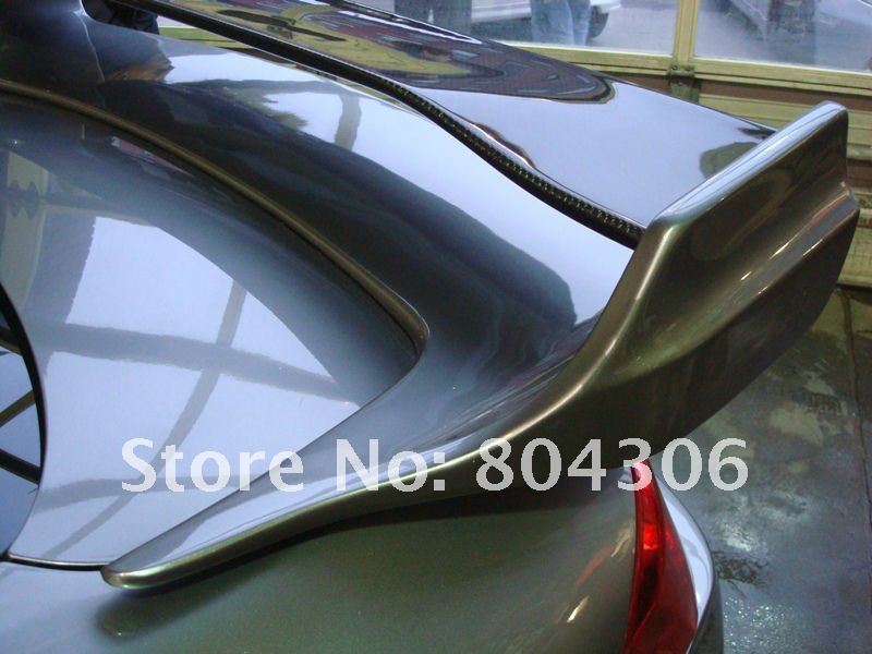 VS STYLE REAR SPOILER WITH CARBON FIBER BLADE Fit For 03-07 G35 2D COUPE SKYLINE V35