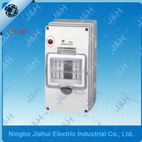 ip66 weathproof mcb enclosure box with led light, waterproof enclosure, waterproof plastic box