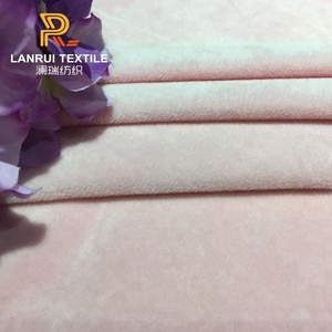 Changshu 100%polyester super velboa soft fabric and textile