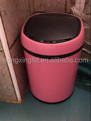 S,S Touchless Infrared Sensor Trash Can