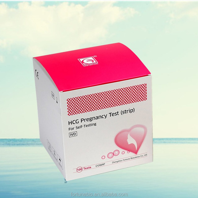 accurate one step pregnancy test strip/medical one step pregnancy test/cassette hcg pregnancy test
