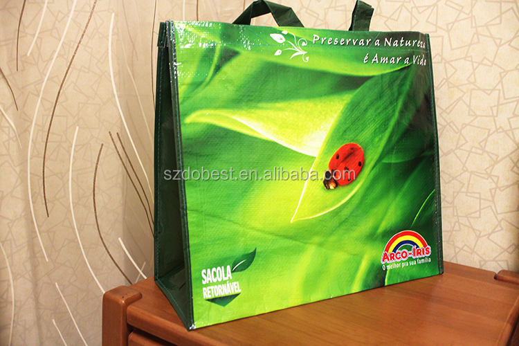 Large Non-Woven Polypropylene Zippered Tote Bags