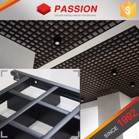 Building Materials Open Suspended Ceiling Tile On Grid
