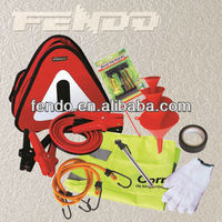 Car roadside Emergency Kit with booster cable