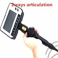 2ways articulating 3.9m industrial flexible visual endoscope