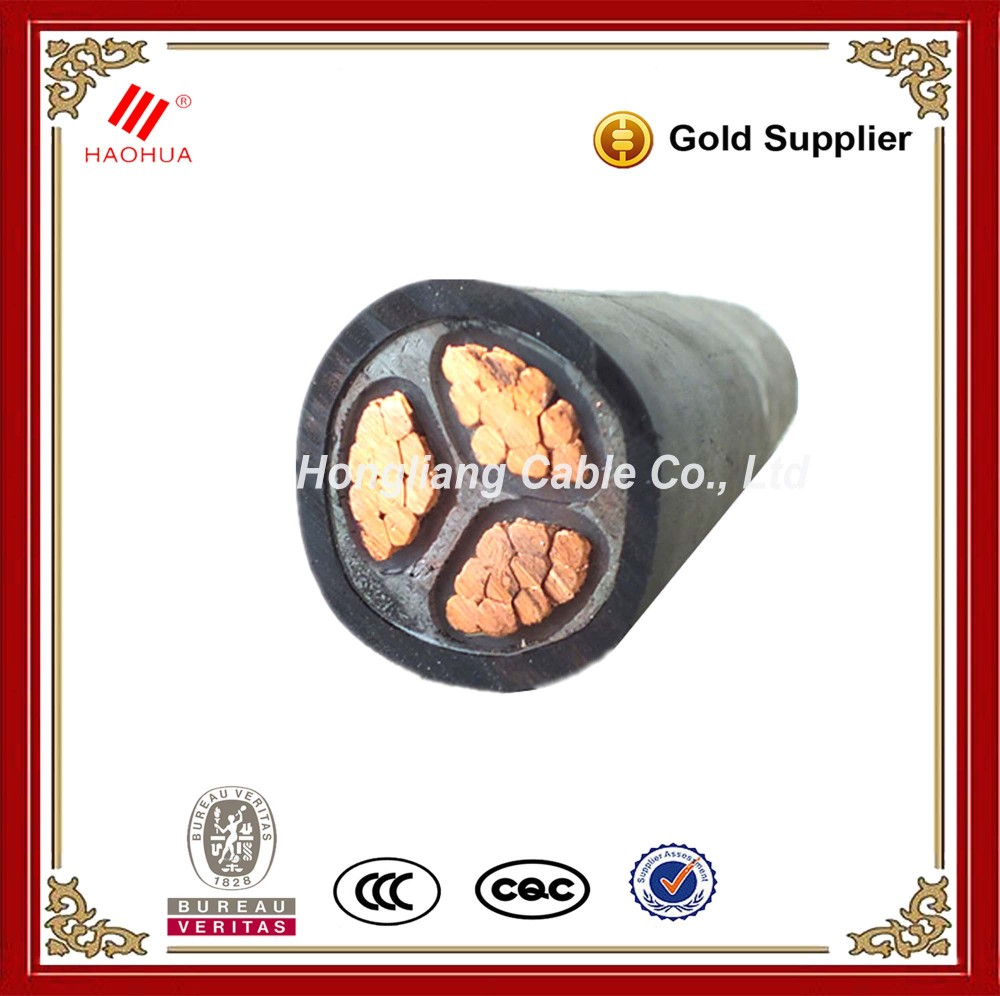 NO.3954- XLPE 70mm 3 4 Core electric 600v XLPE Power Underground Cable specifications