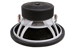 "Made in Chinese factory car subwoofer 600W Rms Powder / 1200W Max power 12"" 12SPL car subwoofer"