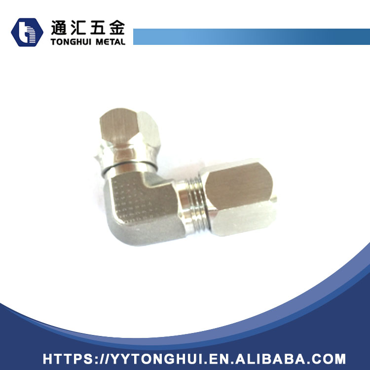 Adjustable SS 316 Galvanized Carbon Steel Elbow Pipe Fitting