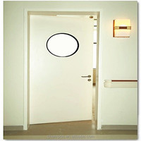 china solid wood doors for hospital clean room
