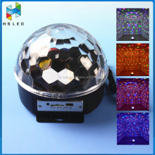 12V 3W RGB stage light disco magic light DMX512 led crystal ball rgb