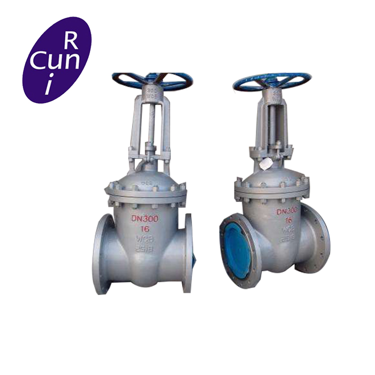 WCB/CF8/CF8M flanged type rising stem gate valve with low price