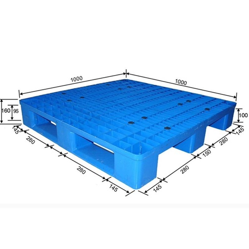 HDPE Cheap Standard Plastic Pallet size euro plastic pallet with CE