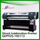 1.9 m Glitter Sublimation Tissu numérique t-shirt textile machine d'impression, machine d'impression