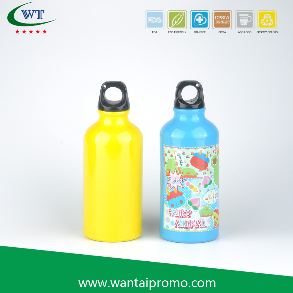 Promotional Items Manufacturer Sublimation Aluminium High-End Water Bottle