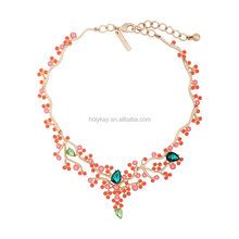 superstar accessories jewelry, fashion yellow beads statement necklace online shop china