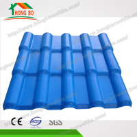 Foshan Manufacturer 10 Years No Color Fading Roof Covering Plastic