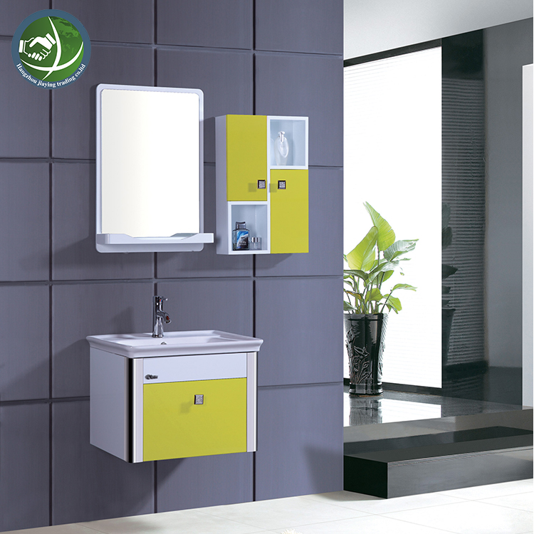 Modern White Pvc Side Cabinet And Mirror Cabinet Bathroom Cabinet