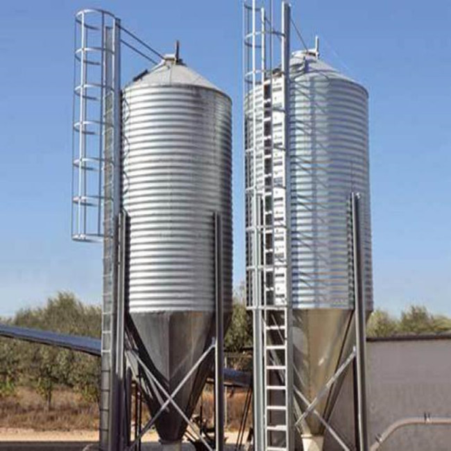 MH- High Quality/Best Price Grain Storage Silo for Poultry Farm Feeding System