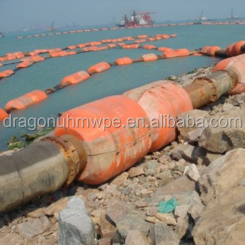 HDPE Float Dredging Pipe with Flange Connection