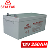 Telecommunication Usage 12v 250ah Lead Acid